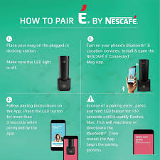 É smart coffee maker é by nescafé is the next generation in coffee devices, ready to revolutionize your daily coffee drinking experience. Nescafe E Smart Coffee Maker And Travel Mug Brandstik