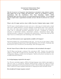 Criminal Justice Resume Objective Examples 6 22 21