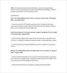 11 Tutor Resume Templates Doc Pdf Free Premium Templates