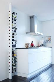 Kitchens With Wine Racks Wine Rack Himself Build And Properly Store The Wine Bottles 50