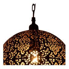 palace ball tikoni pendant lamp iron textile cable black gold inside 11 8x11 8x