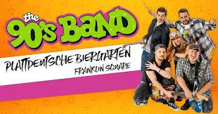 90 s band plattdeutsche biergarten in franklin square