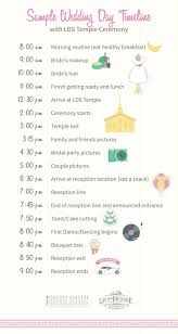 wedding day itinery how to build your wedding day timeline