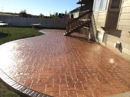 stamped concrete patios ideas amazing backyard stamped concrete patio ideas designs and colors stamped concrete pool