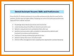 Dental Assistant Job Description For Resume Unique Dental Assistant