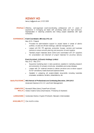 Event Manager Resume Download Event Manager Resume Cover Letter