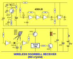 circuit project wireless doorbell eeweb community the only components you will have to know how to make are the coils the size shape and wire diameter are important as the frequency is very high and the