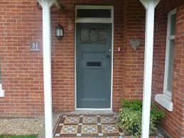 grey front doorModern Country Style The Best Grey Front Door Paint Colours
