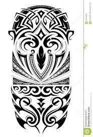 орнамент татуировки размера рукава иллюстрация вектора иллюстрации