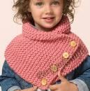 Как связать шарф хомут для подростков