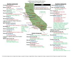 southern colleges. Map Of Southern California Colleges And Universities L