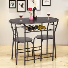 Giantex 3 Pcs Dining Set Table And 2 Chairs Home Kitchen Breakfast