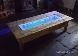diy pallet coffee table glow in the dark wood projects with lichtenberg figure you