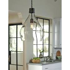 glass pendant light large industrial lighting farmhouse kitchen