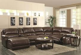 Living Room Full Grain Leather Sofa Costco Sleeper Black Image
