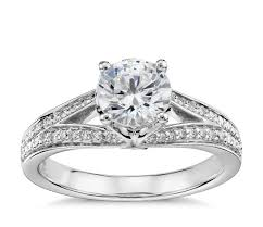 Colin Cowie Colin Cowie Eternal Pavac Split Shank Diamond Engagement Ring In