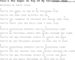 Christmas Songs and Carols, lyrics with chords for guitar banjo for Your'e  The