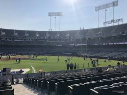 Oakland Raiders Seating Chart View Ringcentral Coliseum Section 140 Oakland Raiders