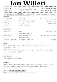 Acting Resume Template Magnificent How To Build An Acting Resume Nmdnconference Example Resume