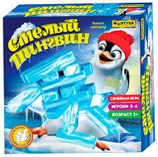 <b>Настольная игра Фортуна</b> Смелый пингвин Ф79327 — купить по ...