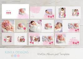 Baby Albums 10x10in Album Psd Template Baby Baby Psd Template By Kimladesigns