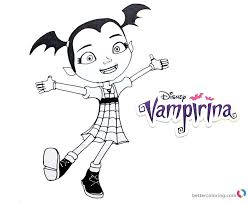 Vampirina Coloring Pages Happy Free Printable Coloring Pages