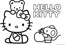 Hello Kitty Disegni Migliori Pagine Da Colorare