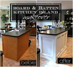 Kitchen Island Makeover 21 Rosemary Lane Board Batten Kitchen Island Makeover