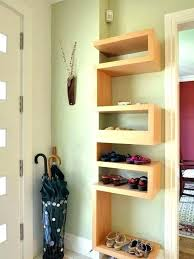 shoe wall mount wall mounted shoe shelves entry shoe cabinet wall mounted shoe storage closet contemporary entry with cool wall mounted shoe