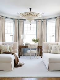 Pale Bedroom With Its Pale Blue Walls And Plush Cream Wool Chaises Lovely