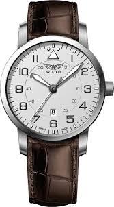 Швейцарские <b>часы Aviator</b> Aircobra <b>V</b>.<b>1.11.0.039.4</b>