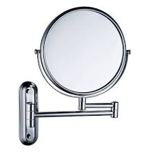 8 inch double sided swivel 12 inch extension wall mount makeup mirror teverer