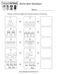 300 questions and answers to get a smart start feder c.w. Winter Math Worksheet Free Kindergarten Seasonal Worksheet For Kids