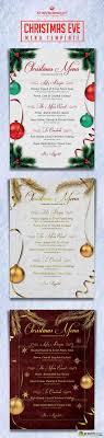 christmas eve menu template vector stock christmas eve menu template 9207575