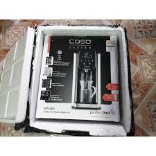 Bình thủy CASO HW660 - Bình thủy đun nước cho nhiệt độ và mức nước tùy ý -  bảng điều khiển điện tử