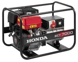 Трёхфазный <b>бензиновый генератор Honda ECT7000K1</b> RG (5,2 ...