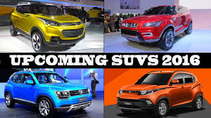 new car 2016 suvUpcoming SUV Cars In India 2016  YouTube