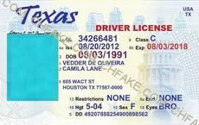 Identification Fake Scannable Id Template Texas Buy