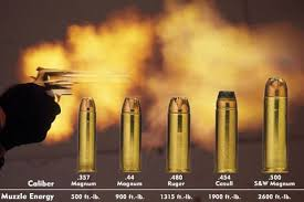 Pistol Bullet Size Chart Smith And Wesson Most Powerful Handgun 500 Cal Magnum