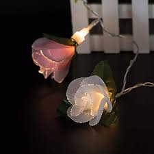 Fiber Optic Blossom Led String Lights Amazon Com Choosebuy Led String Lights 10led Battery