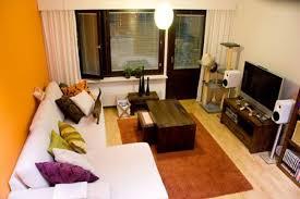 Apartment Living Room Decoration Home Design Ideas - Contemporary apartment living room
