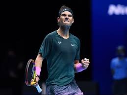 Rafael Nadal battles past Stefanos Tsitsipas to reach ATP Finals last four  against Daniil Medvedev