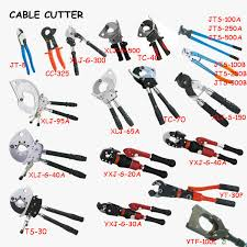 electrical tools list. electrical cable crimping \u0026 cutting tools list e