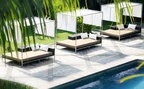 Modern outdoor daybed Garnet If You Are Currently Looking To Create An Outdoor Space For Your Guests To Enjoy Let Modshop Assist In Giving You The Breathless Outdoor Setting Youve Catekennedyinfo Modern Outdoor Furniture