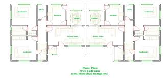 Superb Exciting 2 Bedroom Semi Detached House Plans Best