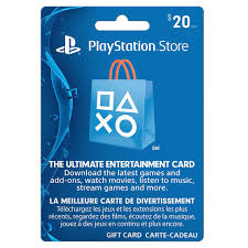 Image result for playstation store $20 gift card free