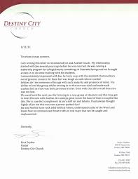 Letters Of Recommendation From Pastor For Student Lovely Best Ideas