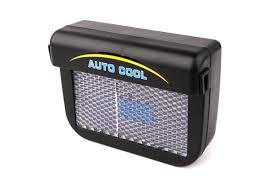 Solar Power Cooler Auto Fan Car Ventilation System Solar Fan Telebrands