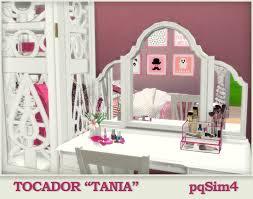 """Tocador """"Tania"""". Sims 4 Custom Content."""