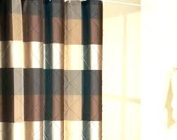 brown and gold curtains black and grey shower curtain black and brown shower curtain large size